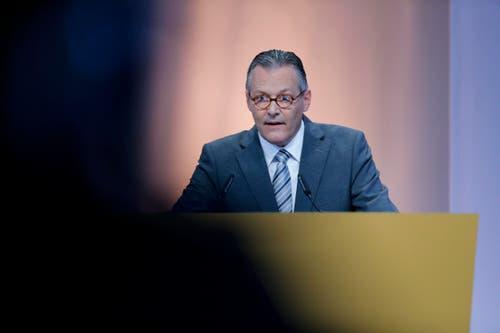 Sika-Verwaltungsratspräident Paul Hälg: « Es gibt bisher keine Garantien für die Stellen bei Sika». (Bild: Stefan Kaiser / Neue ZZ)