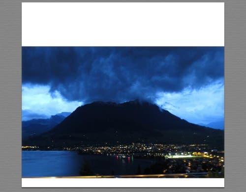 Der Vulkan von Buochs (Bild: B.Chevli)