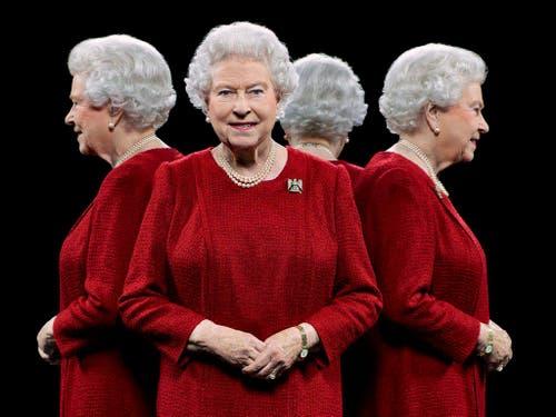 Porträt der britischen Königin Elizabeth II, die seit 60 Jahren Königin von England ist. (Bild: Handout / Hugo Rittson Thomas / königlicher Hoffotograf)