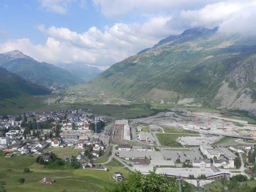Blick auf die Baustelle im Sommer 2011. (Bild: PD)