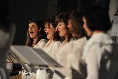 die Vocal Group Putni. (Bild: Urs Hanhart)