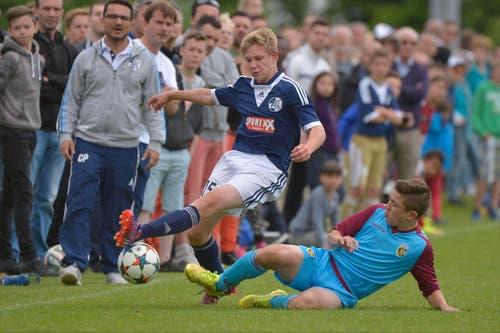 Final U13: FC Luzern-Vitesse Arnhem. (Bild: Martin Meienberger)