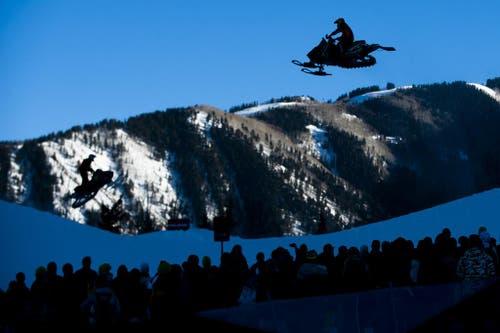 Winter-Games in Aspen. (Bild: Keystone)
