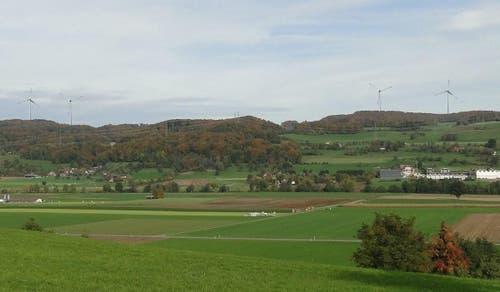 Sicht von Winikon (Bild: CKW)