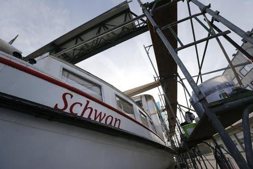 Am 10. Mai soll das Schiff wieder in den See stechen. (Bild: Stefan Kaiser / Neue ZZ)