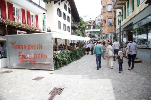 Impressionen von der grossen 1. Augustfeier in Engelberg. Fotografiert am 1. August 2015 in Engelberg Manuela Jans (Neue LZ) (Bild: Manuela Jans / Neue LZ)
