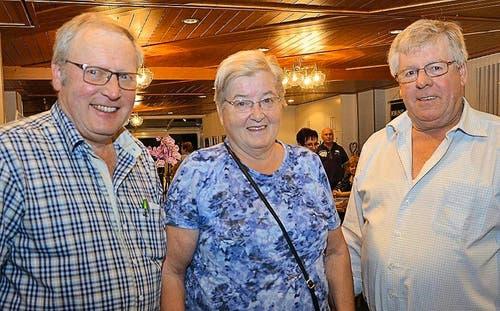 Erzielten die höchsten Punktezahlen in Entlebuch: Josef Thalmann, Rosmarie Bieri und Werner Hofstetter. (Bild: Claudia Surek)