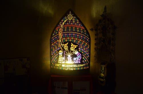 Wunderschöne Iffele der St. Niklausgesellschaft Littau (Bild: Leser Bernhard Wiss)