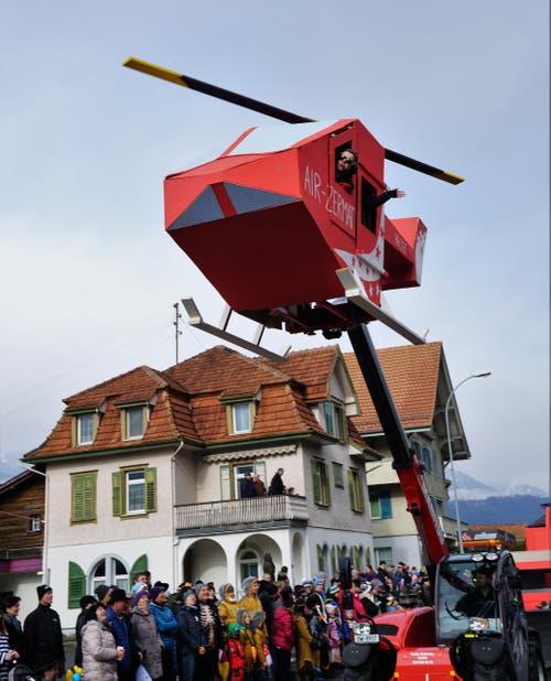 Wetterchaos in der Schweiz - Türbö (Bild: Romano Cuonz (Giswil, 11. Februar 2018))