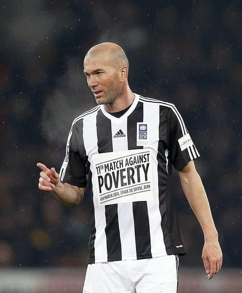 Der «alte Meister» Zinedine Zidane. (Bild: Keystone)