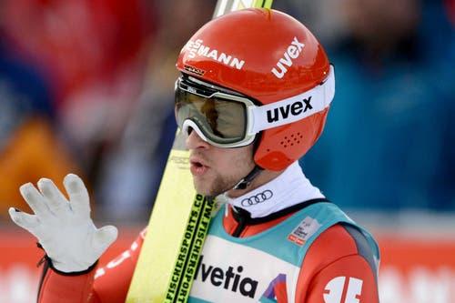 Markus Eisenbichler aus Deutschland. (Bild: Keystone / Urs Flüeler)