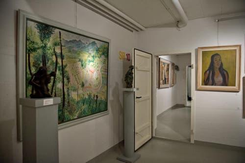 Die Kunstsammlung Robert Spreng in Reiden hatte 2014 gemäss Lustat Statistik Luzern 85 Besucher. (Bild: Pius Amrein / Neue LZ)
