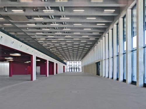 Das Foyer der neuen Halle. (Bild: PD)