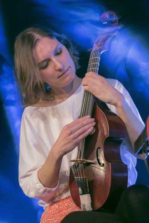 Colleen aus Frankreich. Ihre Musik brachte eine träumerische Note in den Engelsaal. (Bild: André A. Niederberger (Neue NZ))