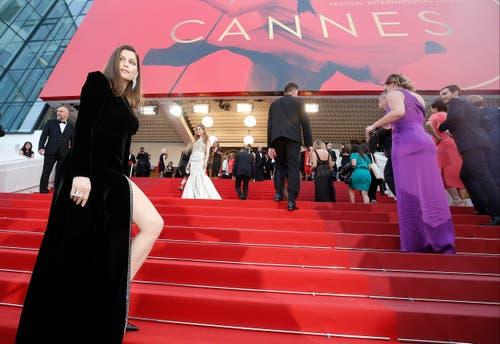 Die französische Schauspielerin Laetitia Casta weiss wie man sich richtig in Szene setzt. (Bild: JULIEN WARNAND)