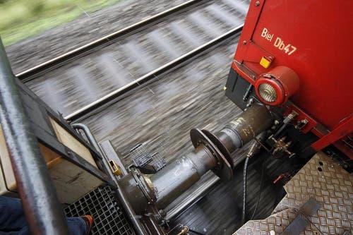 Bis der Güterverkehr wieder normal unterwegs sein wird, dürfte es jedoch noch einige Tage dauern. (Bild: Keystone)
