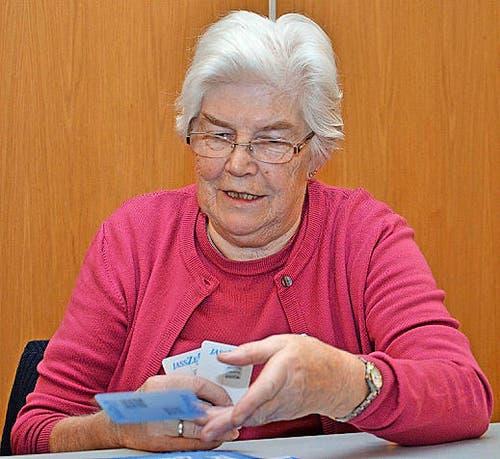 ... seine 81-jährige Mutter Maria Stadelmann. (Bild: Claudia Surek)