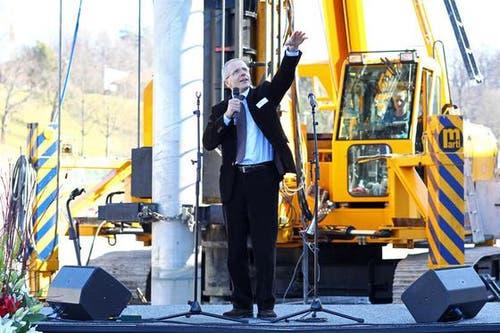 Urs Hunkeler, Mitglied der Geschäftsleitung der Messe Luzern AG. (Bild: Philipp Schmidli / Neue Luzerner Zeitung)
