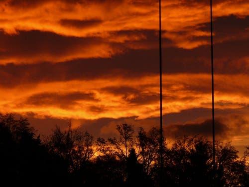 Infernalischer Morgenbeginn (Bild: Büsy Lingg)