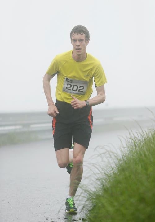 Thomas Schilter, Gewinner Berglauf. (Bild: Stefan Kaiser / Neue ZZ)