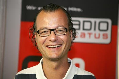 29. März: Nach 24 Jahren beim Radio Pilatus wurde der Moderator Andy Wolf entlassen. Die Enttäuschung und das Unverständnis bei seinen Fans war sehr gross. (Bild: Archiv Neue LZ)