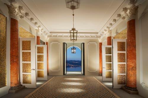 Lobby des Hotel Palace (Bild: PD)