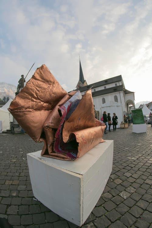 Kunstprojekt von Lipp Leuthold. (Bild: André A. Niederberger)