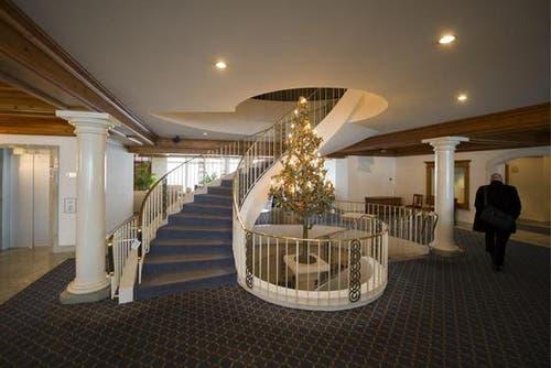 Blick in einen Raum des neuen Resorts. (Bild: Keystone)