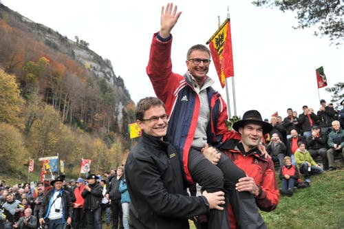 Beat Stadler aus Schattdorf erzielte 86 Punkte und wude damit Tagessieger. (Bild: Urs Hanhart (Neue UZ))