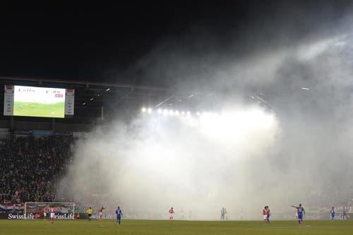 Die Stimmung im Stadion. (Bild: Keystone)