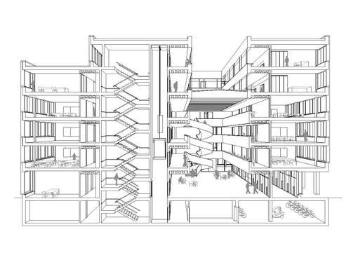 So ist das neue Gebäude konzipiert. (Bild: Visualisierung Metron Architektur AG)