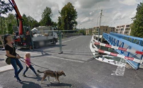 Rathausenbrücke in Emmen (Bild: Google Street View)