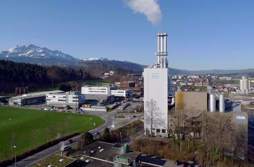 Die Kehrrichtverbrennungsanlage Ibach stellt den Betrieb ein. (Bild: zvg / Aura)