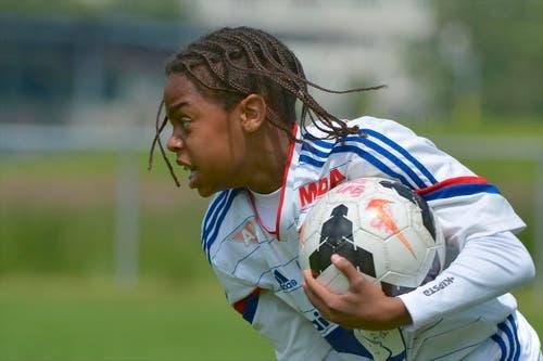 Olympique Lyon. (Bild: Martin Meienberger)