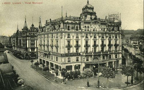 Hotel Monopol, 1901 (Bild: PD)