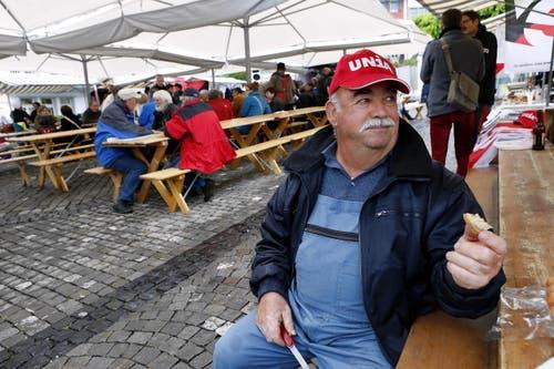 Zug (Bild: Werner Schelbert / Neue ZZ)