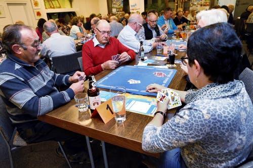 Restaurant Schnitz und Gwunder Steinhausen (28. Oktober). (Bild: Werner Schelbert / Neue ZZ)