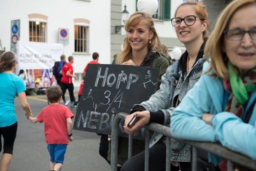 Unterstützung für die 3. / 4. Klässer aus Nebikon (Bild: Eveline Beerkircher / Neue LZ)