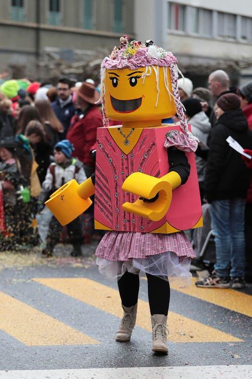 85 Jahre Lego, Warts app Allenwinden (Bild: Roger Zbinden (Baar, 11. Februar 2018))