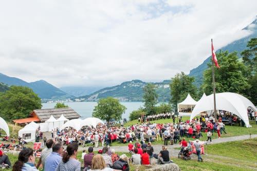 1. August Feier auf dem Rütli (Bild: Roger Grütter / Neue LZ)