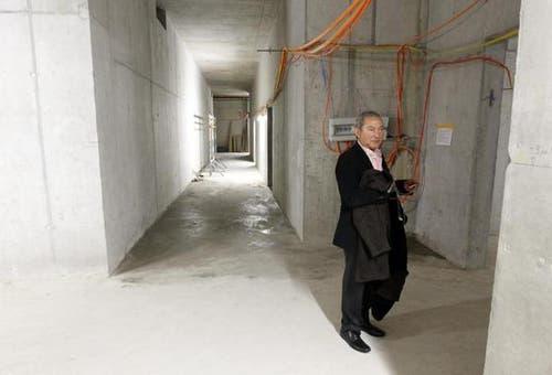 Samih Sawiris im Keller des Chedi. (Bild: Keystone)