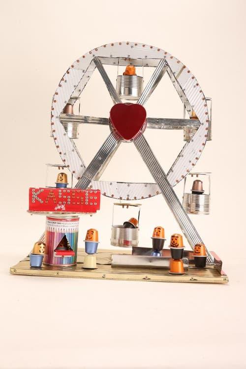 «Riesen Rad» von Elia Rutschi, Trimbach (Bild: pd)