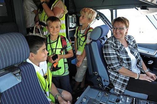 Rund 20 Nidwaldner Ferienpass-Kinder konnten dabeisein. (Bild: Nadia Schärli/Neue LZ)