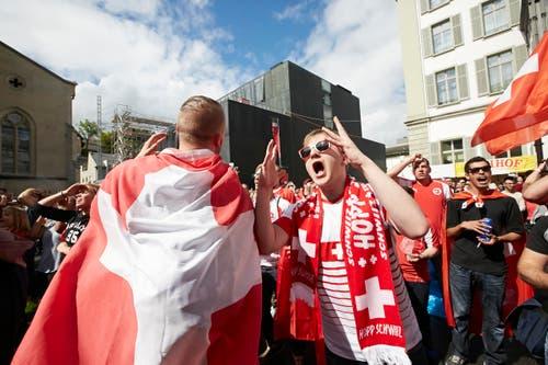 Und ein «Hurra!» (Bild: Jakob Ineichen / Neue LZ)