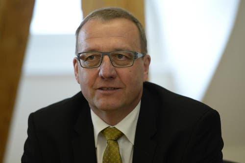 Auch Albert Bossard (FDP) konnte bisher keinen Sitz im Regierungsrat ergattern. (Bild: Keystone / Urs Flüeler)