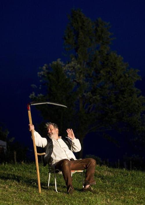 Andrea Zogg als Tell (Bild: Keystone)