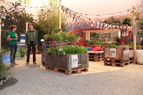 «Urban Gardening» ist das neudeutsche Wort für eine meist kleinräumige, gärtnerische Nutzung städtischer Flächen innerhalb von Siedlungsflächen. (Bild: Ramona Geiger / Neue LZ)