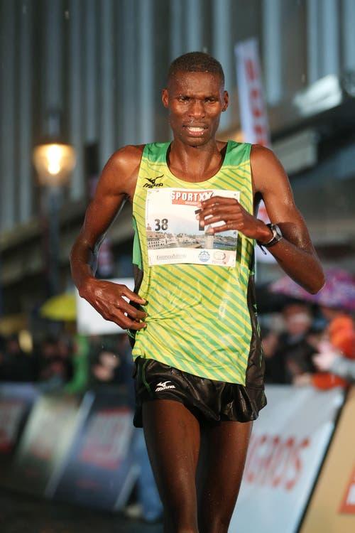 Patrick Mugur Ereng aus Kenia (Bild: Philipp Schmidli)