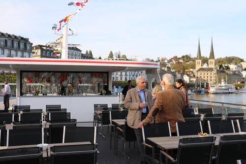 Auf dem Oberdeck. (Bild: Stefanie Nopper / Luzernerzeitung.ch)