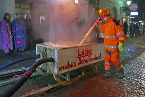 Impressionen vom diesjährigen Fasnachtsumzug in Engelberg. (Bild: Beat Christen (Engelberg, 10. Februar 2018))
